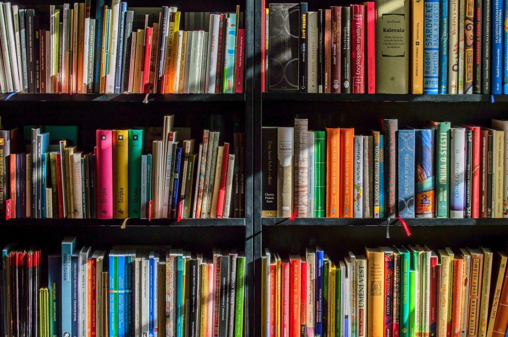 Bücherregal (Image by LubosHouska via pixabay)