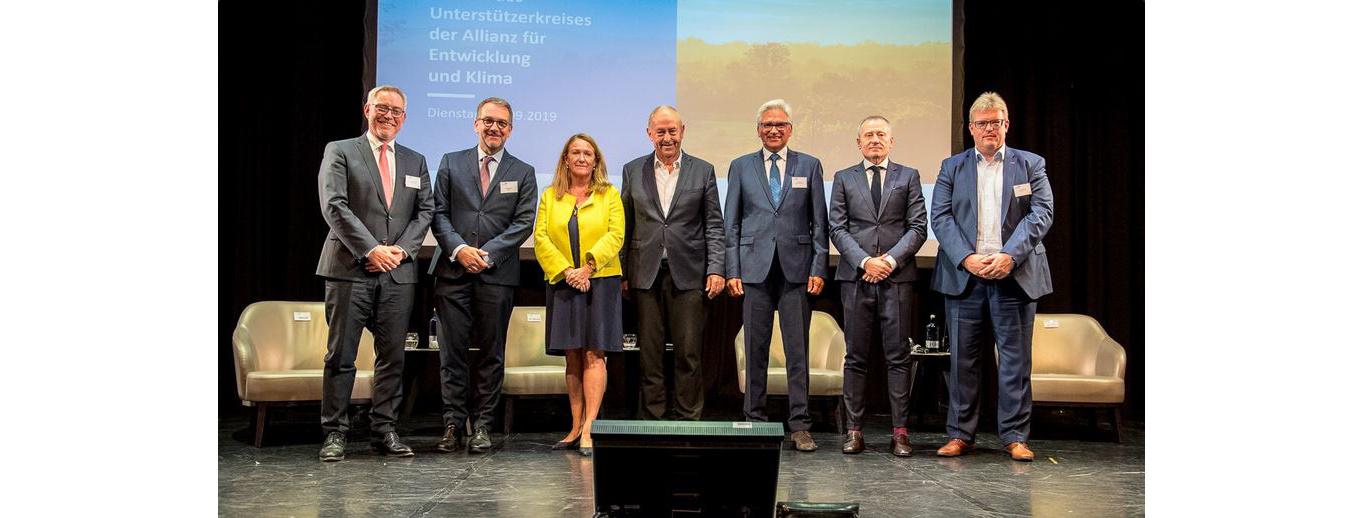 Zweites Treffen des Unterstützerkreises der Allianz für Entwicklung und Klima