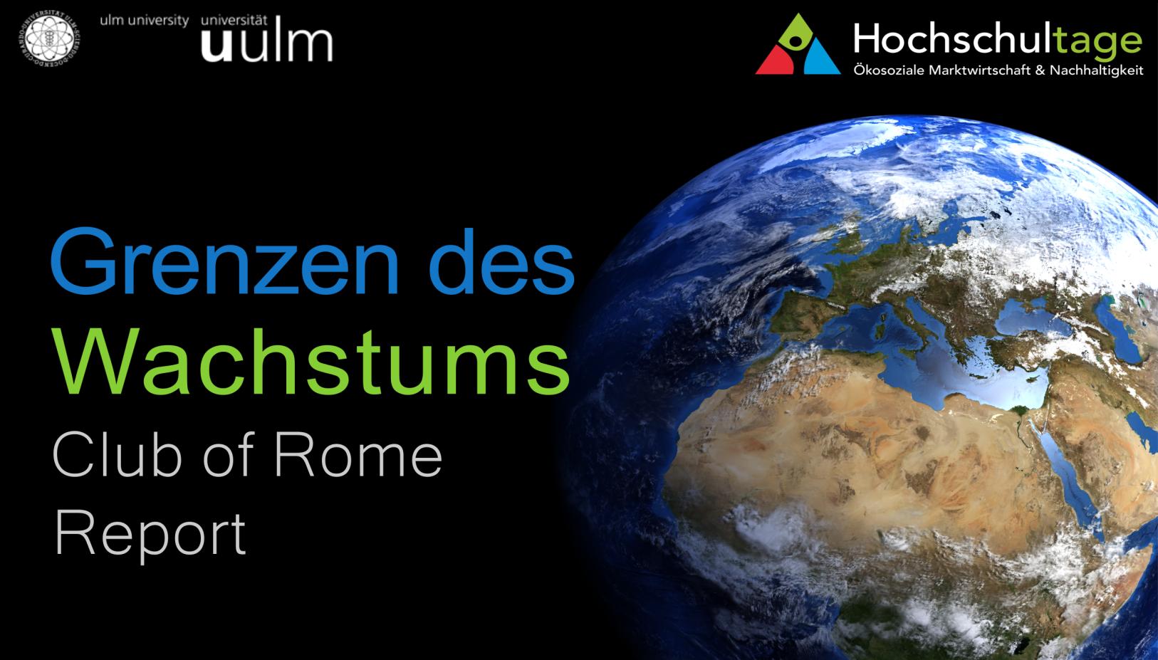 Dennis Meadows in Ulm und die Verleihung des Deutschen Kulturpreises in München